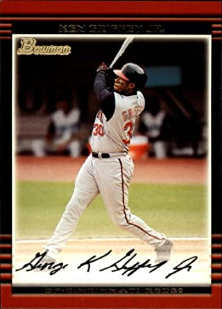 Amazoncom 2002 Bowman Baseball Card 55 Ken Griffey Jr