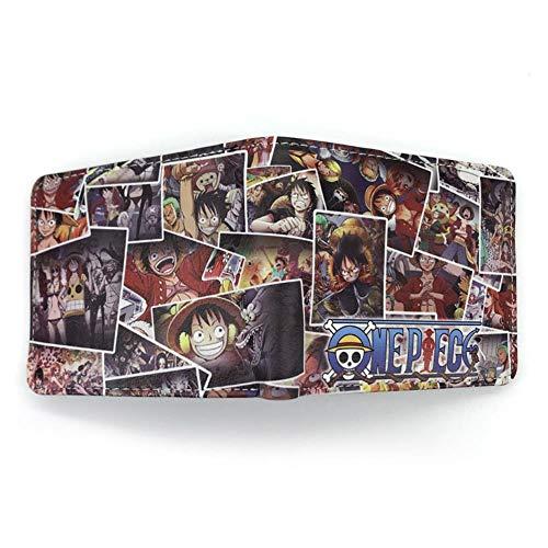 Billetera Wallet Purse Anime One Piece Wallet Short Luffy ...