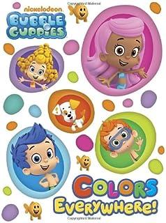 amazon com nickelodeon bubble guppies stickerland book 290 stickers