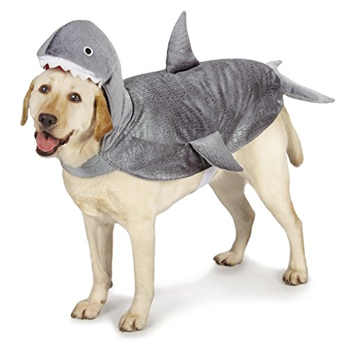Dog Shark Costume Fin (Casual Canine Casual Canine Shark Costume for Dogs, 16
