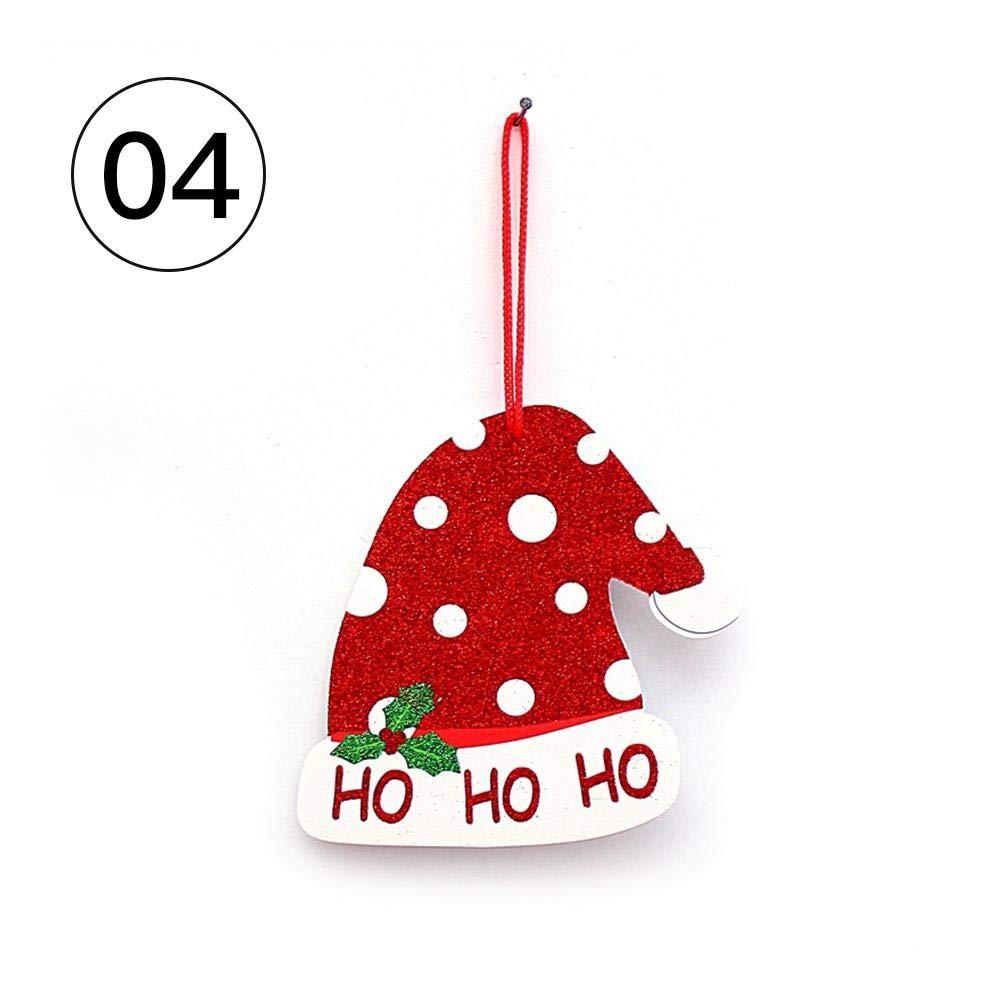 Noël étiquette décoration Bonhomme de Neige Bulle Santa Joyeux Noël étiquette fournit des Portes et fenêtres Mur décorations pour la Maison