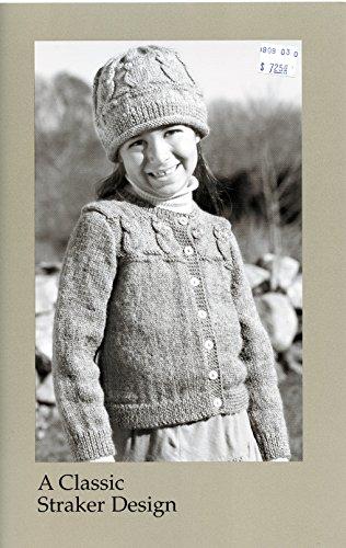 A Classic Straker Design Knitting Pattern #C818 - Owl & Cap - Sport Weight Knitting Patterns