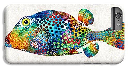 Puff Fish (iPhone 8 Plus Slim Case