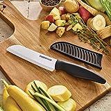 Farberware 5243363 Ceramic Knife Set, 4-Piece, Black