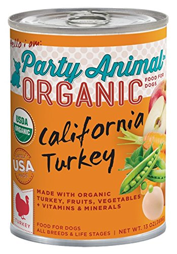 Party Animal Can Dog California Turkey 13 oz Case 12