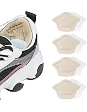Heel Cushion for Loose Shoes, Heel Grips Liner Cushions Inserts Self-Adhesive Heel Protector Pads for Sneaker Shoe Too Big Men Women