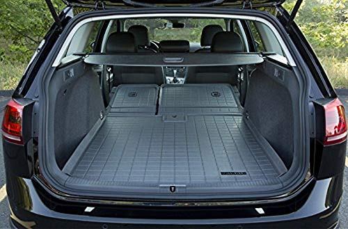 (Volkswagen Golf Sportwagen / Alltrack MuddyBuddy Trunk Liner with Extended Seat Back Cover)