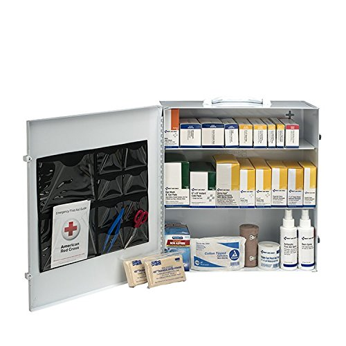 (First Aid Only 100 Person 3 Shelf First Aid Steel Cabinet)