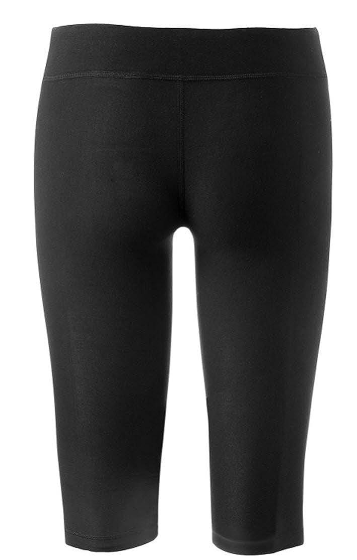 abe2a3502237 Amazon.com  Marika Girls Stretch Capri Active Performance Leggings (M  (10 12)