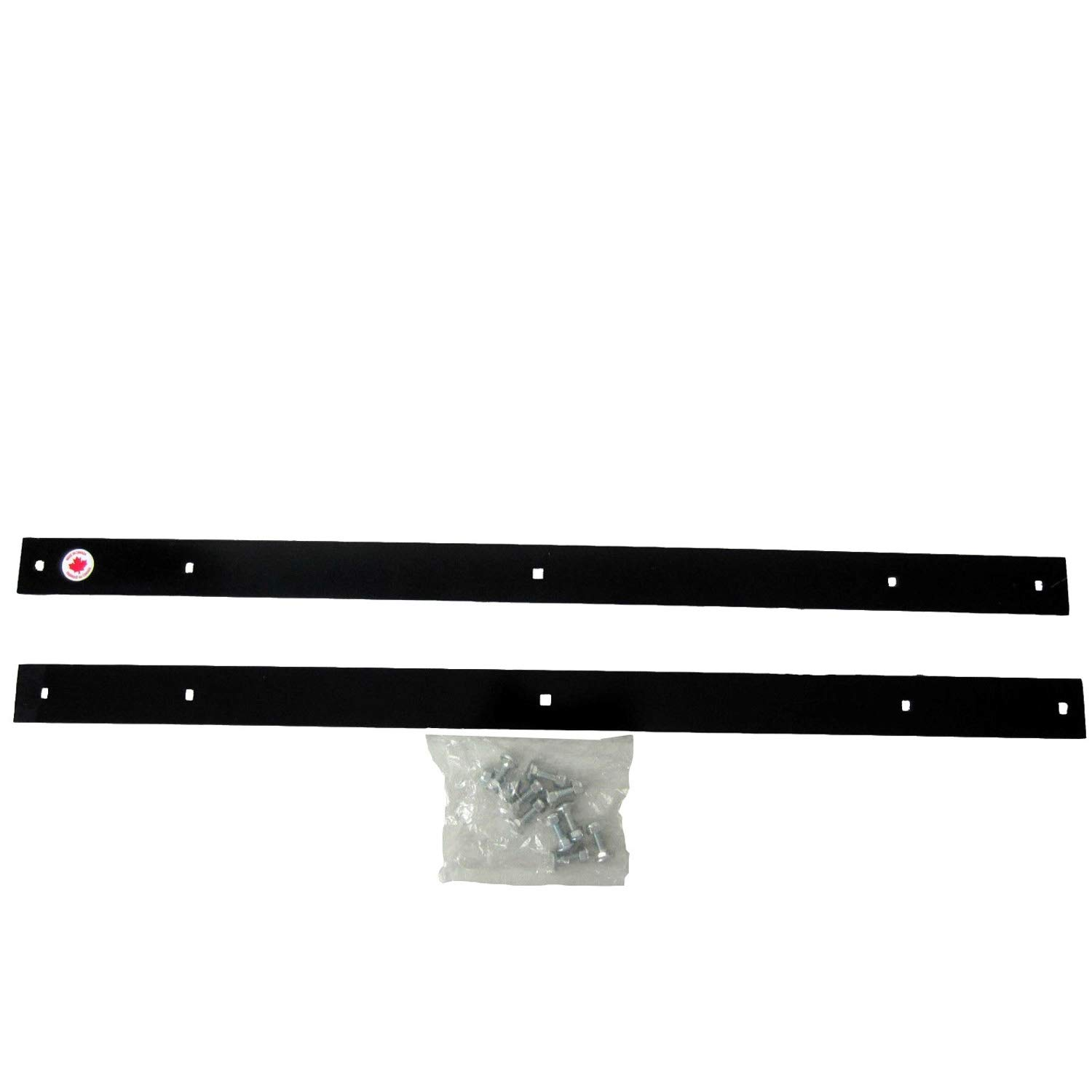 Polaris New OEM Ranger 72'' Snow Plow Blade Scraper Wear Bar Edge Kit 2875697-RWB by Polaris (Image #2)