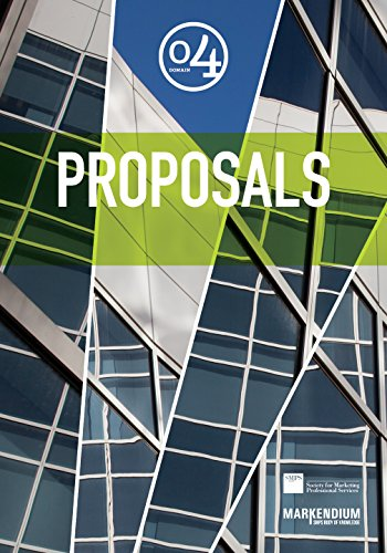 Domain 4: Proposals (MARKENDIUM: SMPS Body of Knowledge)