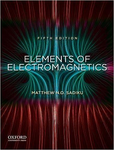 Elements of electromagnetics sadiku 3rd ed.