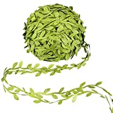 Awpeye 525 Ft Artificial Greenery Garlands, Fake Hanging Plants Ribbon DIY Vine Flower Leaves Decorative Home Wall Garden Wedding Party Wreaths Decor