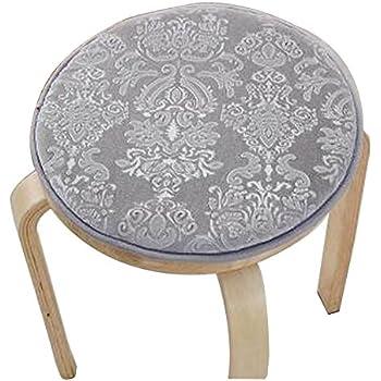 [Gray] Velvet Round Stool Cover Stool Cushion Bar Stool Mat Seat Pad  sc 1 st  Amazon.com & Amazon.com: [Coffee] Velvet Round Stool Cover Stool Cushion Bar ... islam-shia.org