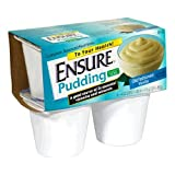 Abbott Nutrition Ensure Complete Balanced Nutrition Pudding - 48/4 ounce Cup