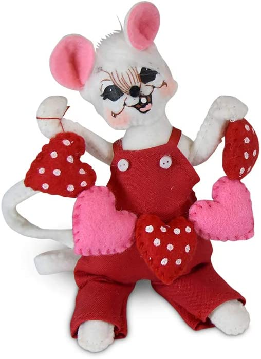 Annalee 5in String of Hearts Mouse