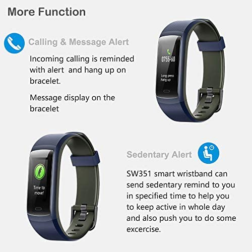 Willful Fitness Tracker, Heart Rate Monitor Activity Tracker Pedometer with Step Counter Sleep Monitor 14 Sports Tracking,Color Screen IP68 Waterproof,Fitness Watch for Men Women Kids 8