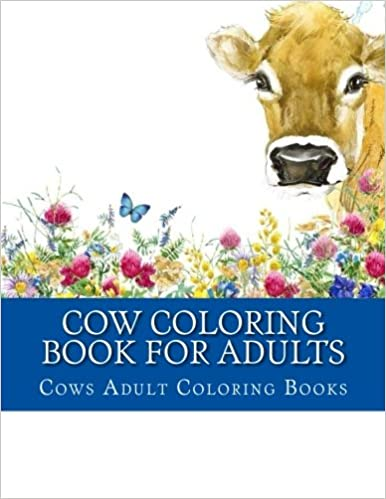 Amazon Cow Coloring Book For Adults Cows Farm Animals Books 9781976014550 Adult