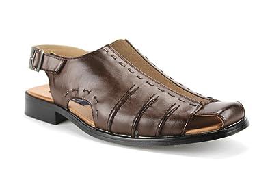 6ff25903dcdeb9 Ferro Aldo Majestic Men s 33225 Sling Back Covered Toe Dress Shoe Sandals