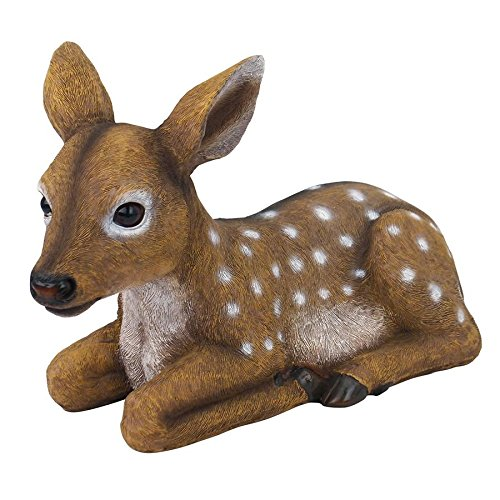 Design Toscano Darby, the Forest Fawn Baby Deer Statue -