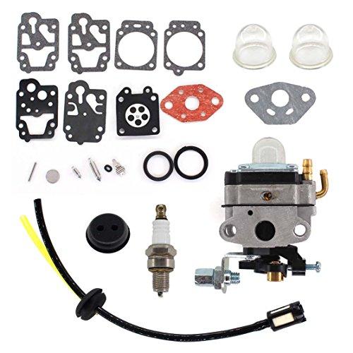 USPEEDA Carburetor Diaphragm Gakset for Craftsman 4 Cycle Mini Tiller Carb 316.292711 Carb Repair Rebuild Kit
