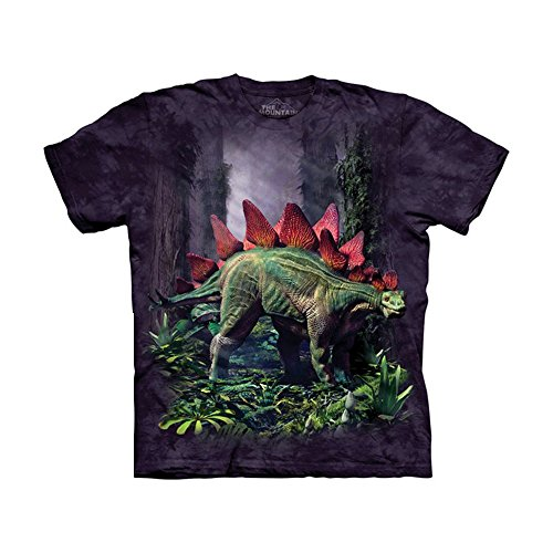 The Mountain Kids Stegosaurus T-Shirt, X-Large, Purple