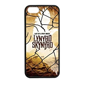 Zyhome iPhone 5,5S New Unique Lynyrd Skynyrd Pattern Case Cover for iPhone 5,5S TPU (Laser Technology)