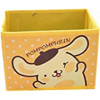 Kerr's Choice Collapsible Storage Bin Pom Pom Purin Foldable Baskets | Kawaii Office Desk Room Decoration Cute Sanrio…