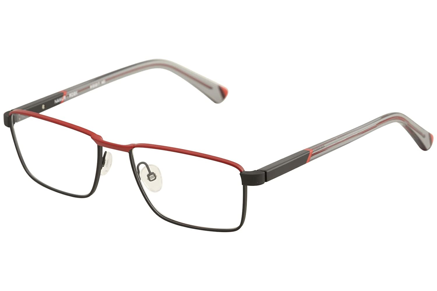 fa2283f0f1 Amazon.com  Etnia Barcelona Men s Eyeglasses Namur RDBK Red Black Optical  Frame 55mm  Clothing