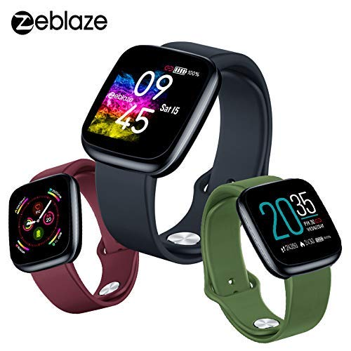 Amazon.com: Zeblaze Crystal 3 Smart Watch, Outdoor Sports ...