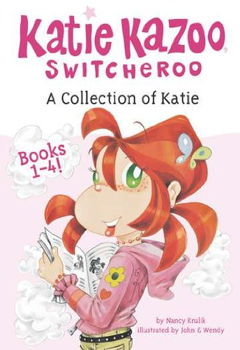 A Collection of Katie: Books 1-4 (Katie Kazoo, Switcheroo) 2nd Grade Reading Level Books