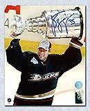 Jean-Sebastien Giguere Anaheim Ducks Signed 2007 Stanley Cup 8x10 Photo - Autographed Hockey Photos