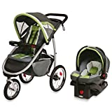 FastAction Fold Jogger Jogging Baby Stroller with Infant Car Seat - Piazza