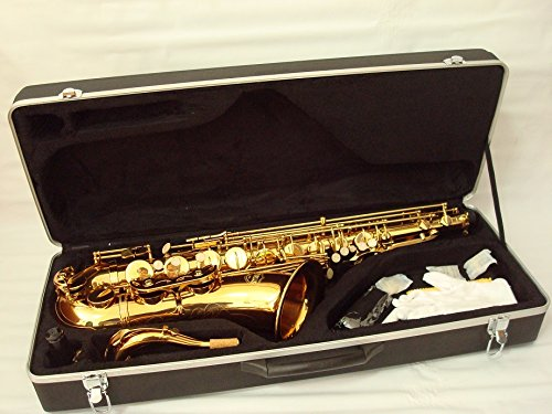 OPUS USA By Ktone Professional Gold Tenor Saxophone Sax Brand New 6105G