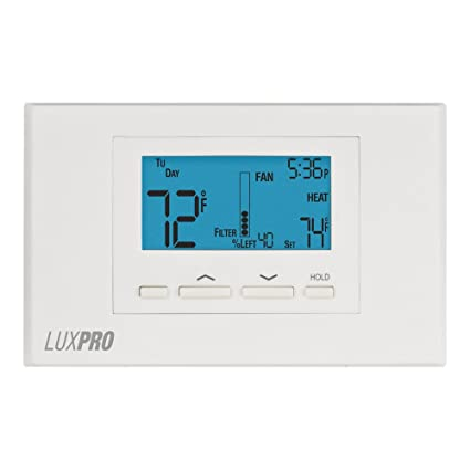 LuxPro 675-P621U Thermostat, 5-1-1P, NP, 2H/