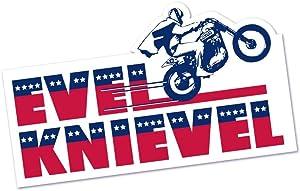The Coop Evel Knievel Bumper Sticker