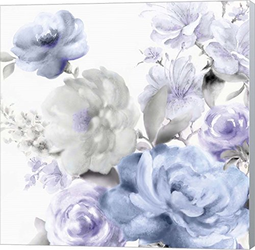 Light Floral II by Eva Watts Canvas Art Wall Picture, Museum