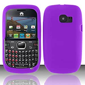 For Huawei Pinnacle 2 M636 Silicone Skin Case Cover - Purple