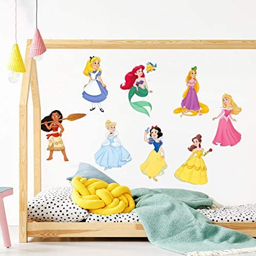 baby products, nursery, décor, wall décor,  stickers 9 image decalmile Princess Wall Stickers Girls Wall Decals Baby in USA