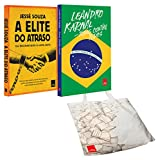 capa de Elite do Atraso + Todos Contra Todos - Kit Exclusivo com 2 Volumes (+ Ecobag)