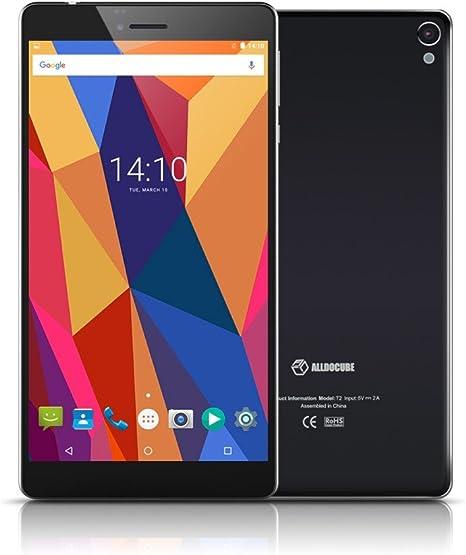 organizersmalld ocube 6.98 Quad Core T2 Android Tablet PC (1280 x 720 IPS de la Pantalla, 1 g ram, 16 GB ROM) 4 G Unlocked Smartphone phablet – Negro (Elija su Adaptador en Promo): Amazon.es: Informática