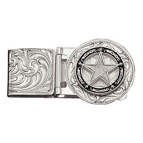 - Montana Silversmiths Star Concho Hinged Money Clip