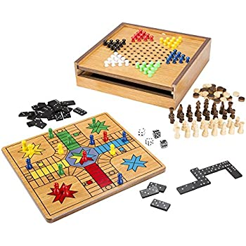 Ludo Board Games Set For Kids With Magnetic