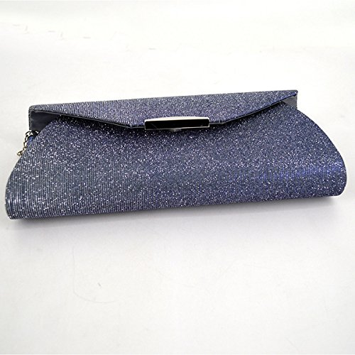 Evening Light Party Frosted Clutch Wedding Prom Handbags Purse Bag Ladies ZLMBAGUS Crossbody Envelope Satin Grey Owf0qtxF4