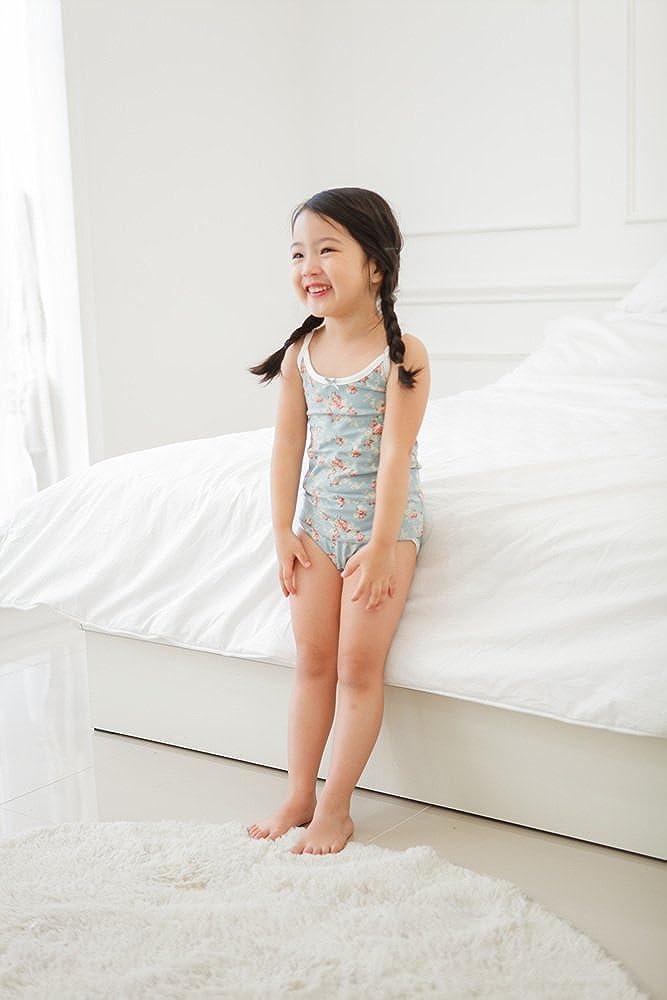 Pack of 3 Vaenait baby 2T-7T Kids Girls 100/% Cotton Undershirts Tank Tops Cami /& Assorted Panties Underwear Set