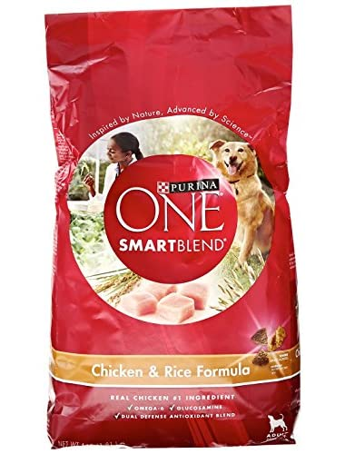 Purina One Dry Dog Food Chicken and Rice Formula, 4 lb