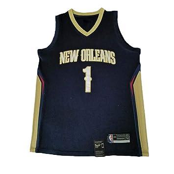 KKSY Camiseta de Baloncesto Hombres Duke Blue Devils Zion Williamson # 1 Negro Vintage Fitness Chaleco Sports Top