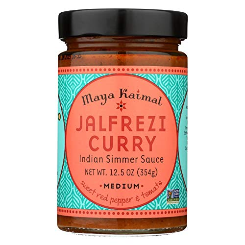 (Maya Kaimal Jalfrezi Curry Medium Indian Simmer Sauce, 12.5 Ounce -- 6 per case.)