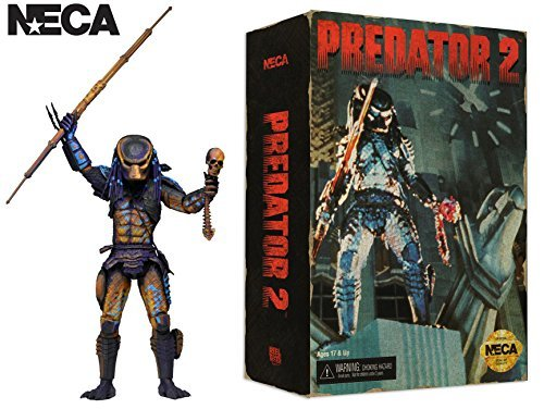 "NECA Predator 2 7"" Scale Figure City Hunter 16-bit SEGA Video Game Appearance"