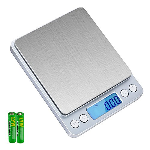 SKYROKU KS-486 3000g Multifunction Pocket Digital Scale, 0.01 oz Resolution, High Precision, Backlit Display,